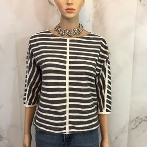 Madewell Back ZIP PopOver Top